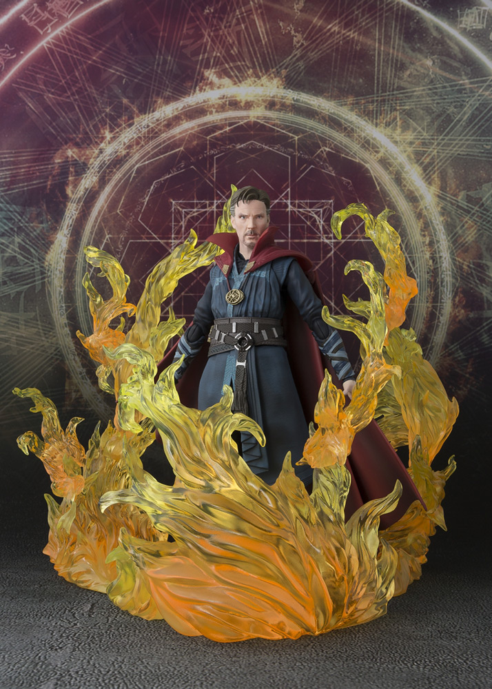 [RESERVA DE DICIEMBRE 2019]DOCTOR STRANGE BURNING FLAME SET SH FIG