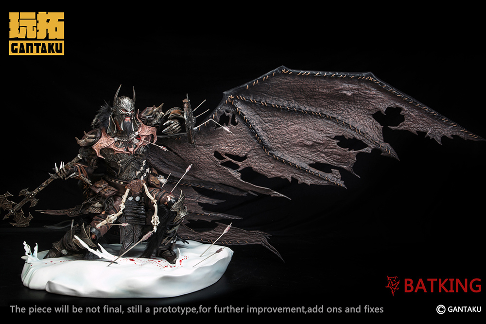 The Bat King 1/4 Statue by Gantaku