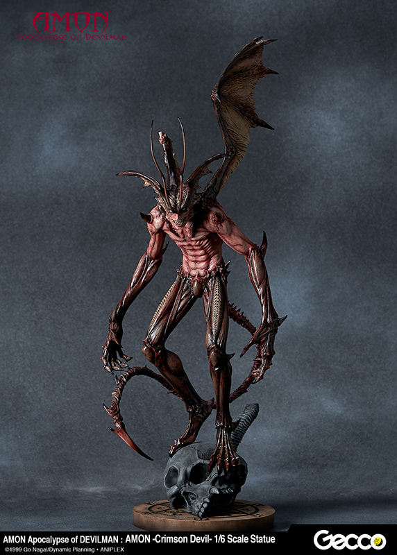 Amon Red Apocalypse of Devilman 1/6 Scale Statue by Gecco
