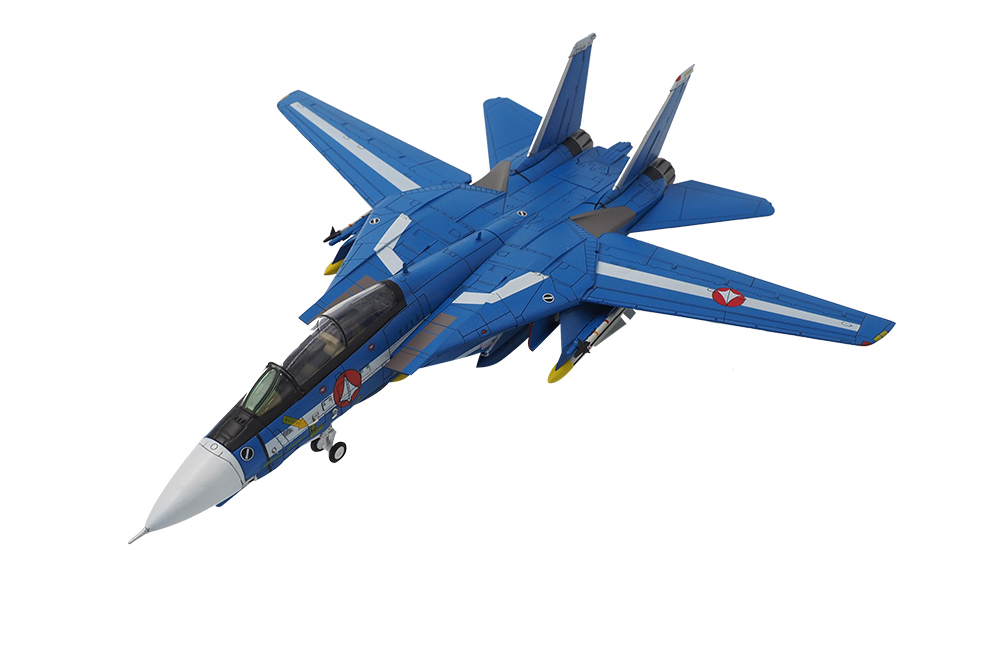 Macross Robotech F-14 VF-1J Max S-Type Blue Valkyrie Diecast 1/72 scale by Calibre Wings