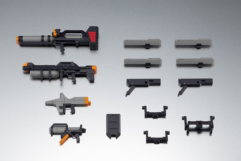 [RESERVA DE DICIEMBRE 2019]RS EARTH FEDER FORCE WEAPONS ANIME SET